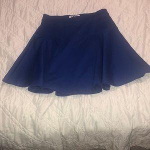 Old Navy Royal Blue Skater Skirt